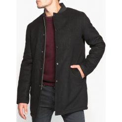 Płaszcze męskie: Płaszcz półdługi, kołnierz stójka