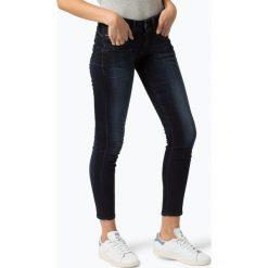 G-Star - Jeansy damskie – Lynn, niebieski. Niebieskie spodnie z wysokim stanem marki G-Star, z jeansu. Za 249,95 zł.