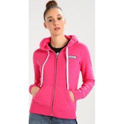 Bluzy rozpinane damskie: Hollister Co. CORE Bluza rozpinana medium pink