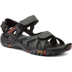 Sandały męskie skórzane: Sandały MERRELL – All Out Blaze Sieve Convert J12651 Dark Slate