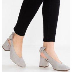Buty ślubne damskie: Office MAJESTIC Czółenka grey