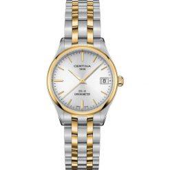PROMOCJA ZEGAREK CERTINA DS-8 LADY COSC CHRONOMETER C033.251.22.031.00. Szare zegarki damskie CERTINA, szklane. W wyprzedaży za 1619,21 zł.
