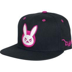 Overwatch D.VA Logo Czapka Snapback czarny. Czarne czapki z daszkiem damskie Overwatch, z tworzywa sztucznego. Za 99,90 zł.