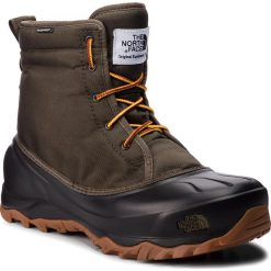 Śniegowce THE NORTH FACE - Tsumoru Boot T93MKS5UA Tarmac Green/Tnf Black. Zielone botki męskie The North Face, z materiału. Za 499,00 zł.