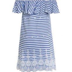 Sukienki dziewczęce: happy girls OFF SHOULDER Sukienka letnia royalblau
