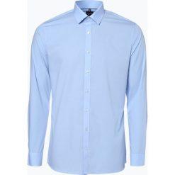 OLYMP No. Six - Koszula męska łatwa w prasowaniu, niebieski. Niebieskie koszule męskie non-iron marki OLYMP No. Six, m. Za 229,95 zł.