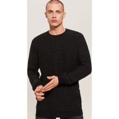 Sweter - Czarny. Czarne swetry klasyczne męskie House, l. Za 89,99 zł.