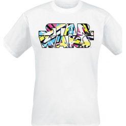 T-shirty męskie: Star Wars Falcon 80s Dots T-Shirt biały