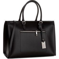Torebka CREOLE - K10403  Czarny. Czarne torebki klasyczne damskie Creole, ze skóry. W wyprzedaży za 279,00 zł.