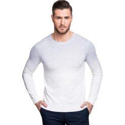 Sweter PIETRO SWNS000101. Białe swetry klasyczne męskie Giacomo Conti, m, z bawełny. Za 229,00 zł.