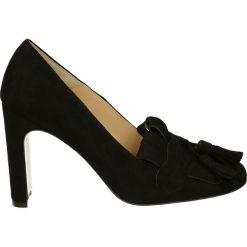 Buty ślubne damskie: Czółenka - 02401 CAM NER