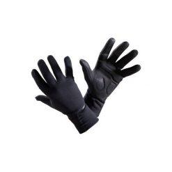 Rękawiczki 500 jesienne. Czarne rękawiczki damskie B'TWIN, na jesień. Za 49,99 zł.