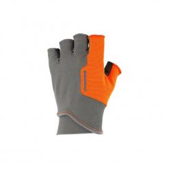 Rękawiczki Mitenki BALL TRAP. Szare rękawiczki damskie SOLOGNAC, z elastanu. Za 39,99 zł.