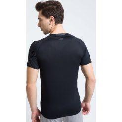 T-shirty męskie: Koszulka treningowa męska TSMF215 – głęboka czerń