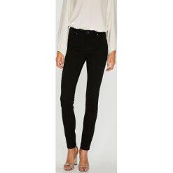 Morgan - Jeansy. Czarne rurki damskie marki Morgan, z bawełny. W wyprzedaży za 149,90 zł.