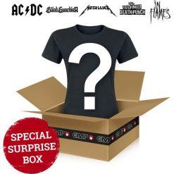 Surprise Metal/Rock Shirt Ein Metal/Rock Shirt unserer Wahl Koszulka damska standard. Brązowe bluzki damskie Surprise Metal/Rock Shirt, l, rockowe. Za 29,90 zł.