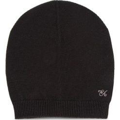 Czapka EMPORIO ARMANI - 394552 8A510 00020 S Black. Czarne czapki zimowe damskie Emporio Armani, z materiału. Za 319,00 zł.