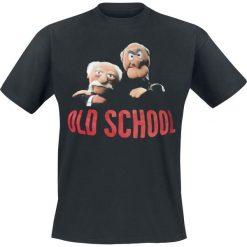 Muppety Old School T-Shirt czarny. Czarne t-shirty męskie Muppety, s. Za 89,90 zł.