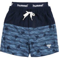 Hummel SPOT  Szorty kąpielowe black iris. Niebieskie kąpielówki chłopięce marki Hummel, z materiału. Za 169,00 zł.