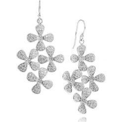 Biżuteria i zegarki: RABAT Srebrne Kolczyki – srebro 875, Cyrkonia