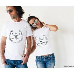 Koszulki dla par - my dream, my future. Szare t-shirty damskie Pakamera, s, z napisami. Za 109,00 zł.