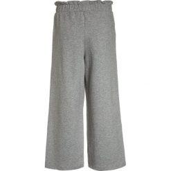 LMTD NLFNINNA WIDE PANT Spodnie treningowe grey melange. Szare spodnie chłopięce LMTD, z bawełny. Za 129,00 zł.