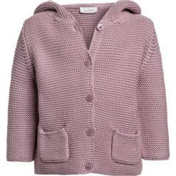 Next HOODED CARDIGAN BABY  Kardigan lilac. Czerwone swetry chłopięce Next, z bawełny. Za 139,00 zł.