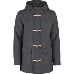 Pier One Krótki płaszcz dark grey. Szare płaszcze wełniane męskie marki Pier One, m. Za 419,00 zł.