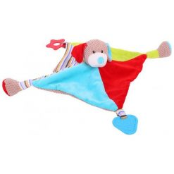 Bigjigs Toys Sensoryczna Szmatka Przytulanka Bruno bb515. Szare przytulanki i maskotki Bigjigs Toys, z materiału. Za 39,00 zł.