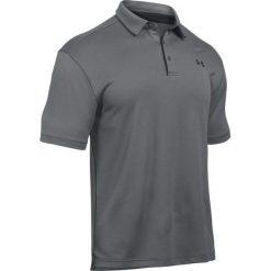 Koszulki polo: Under Armour Koszulka męska UA Tech Polo szara r. L (1290140 040)