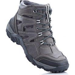 Buty trekkingowe bonprix antracytowy. Szare buty trekkingowe damskie bonprix. Za 159,99 zł.
