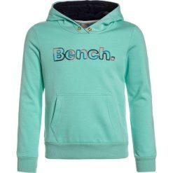 Bench RAINBOW CORP HOODY Bluza z kapturem ice green. Zielone bluzy dziewczęce rozpinane Bench, z bawełny, z kapturem. W wyprzedaży za 152,10 zł.