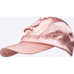 Missguided - Czapka. Szare czapki z daszkiem damskie marki Missguided, z poliesteru. W wyprzedaży za 34,90 zł.