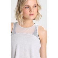 New Balance Koszulka sportowa sea/light heather. Szare t-shirty damskie New Balance, xs, z elastanu. Za 169,00 zł.