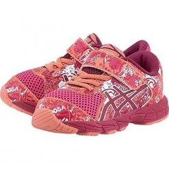 Buty sportowe w kolorze czerwonym. Czerwone buty sportowe dziewczęce marki Asics, z materiału. W wyprzedaży za 173,95 zł.