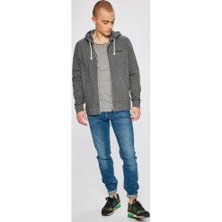 Napapijri - Bluza. Szare bluzy męskie rozpinane marki Napapijri, l, z materiału, z kapturem. W wyprzedaży za 299,90 zł.