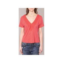 T-shirty z krótkim rękawem Roxy  LITTLELIES. Czerwone t-shirty damskie Roxy, l. Za 159,20 zł.