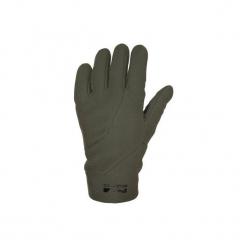 Rękawiczki myśliwskie 500 SOFTSHELL. Brązowe rękawiczki damskie SOLOGNAC, z materiału. Za 59,99 zł.