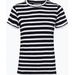Marie Lund - T-shirt damski, niebieski. Niebieskie t-shirty damskie Marie Lund, l, w paski. Za 59,95 zł.
