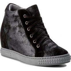 Sneakersy SERGIO BARDI - Amantea FW127282917SW 631. Czarne sneakersy damskie Sergio Bardi, z materiału. W wyprzedaży za 219,00 zł.