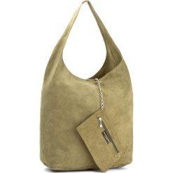 Torebka CREOLE - K10408  Zielony. Zielone torebki klasyczne damskie Creole, ze skóry. Za 139,00 zł.