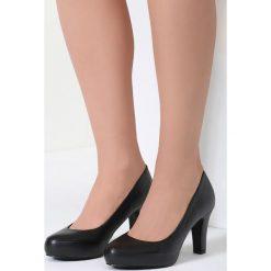 Buty ślubne damskie: Czarne Czółenka Marvelous