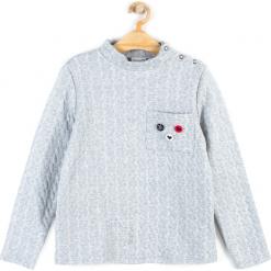 Bluza. Szare bluzy dziewczęce rozpinane CHIC UNIQUE, z bawełny, z długim rękawem, długie. Za 29,90 zł.
