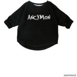 Bluza Ancymon - czarny. Czarne bluzy dziewczęce rozpinane marki Pakamera, z bawełny. Za 60,00 zł.