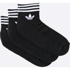 Adidas Originals - Skarpety (3-Pack). Szare skarpetki damskie adidas Originals, z bawełny. Za 59,90 zł.