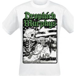 Dropkick Murphys Trumpeter T-Shirt biały. Białe t-shirty męskie Dropkick Murphys, s. Za 74,90 zł.