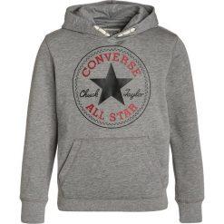 Converse CORE Bluza z kapturem dark grey heather. Szare bluzy dziewczęce rozpinane marki Converse, z bawełny, z kapturem. W wyprzedaży za 151,20 zł.