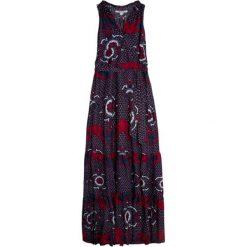Długie sukienki: Sukienka w kolorze granatowo-czerwonym