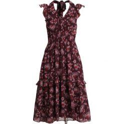 Whistles PITTI DOUBLE STRAPDRESS Sukienka letnia pink/multi. Fioletowe sukienki letnie marki Whistles, z materiału. Za 1089,00 zł.