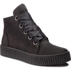 Sneakersy SERGIO BARDI - Istia FW127371518SW 401. Czarne sneakersy damskie Sergio Bardi, z nubiku. W wyprzedaży za 239,00 zł.